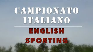 2° Campionato Italiano di English Sporting