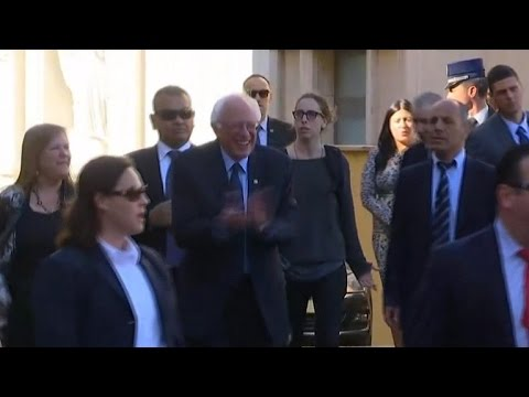 Bernie Sanders: Meeting with Pope Francis at Vatican not political