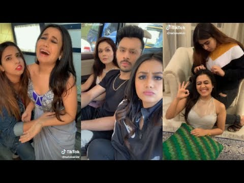 Naha Kakkar Musically tik tok video||Tony Kakkar Sonu Kakkar Musically India/Dilli waliye song