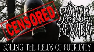 SOLACE OF REQUIEM - Soiling The Fields Of Putridity (lyric video)