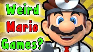 Top 10 WEIRDEST Mario Spin Off Games