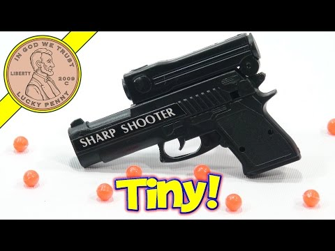 Sharp Shooter Mini Toy Gun By Wanda. Aim & Fire!