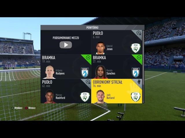 Finał Eliminacji do LW Fifa 17 PC