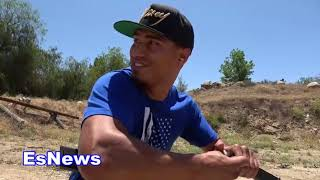 (0 to 100) Don't Break Into Mikey Garcia Home EsNews Boxing