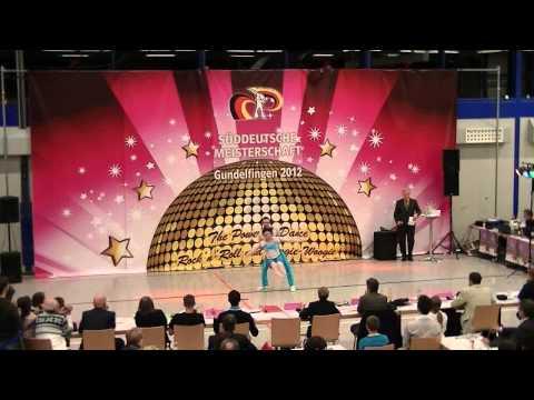 Lisa Schanderl & Thomas Walczak - Süddeutsche Meisterschaft 2012