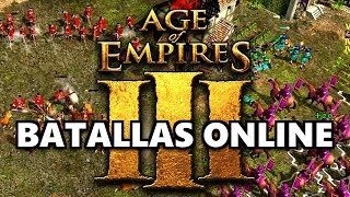 AGE of EMPIRES 3 | BATALLAS ÉPICAS ONLINE #1