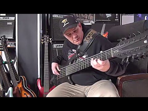 Black Rhino Lullaby - by Andy Irvine - 12 string Bass Guitar