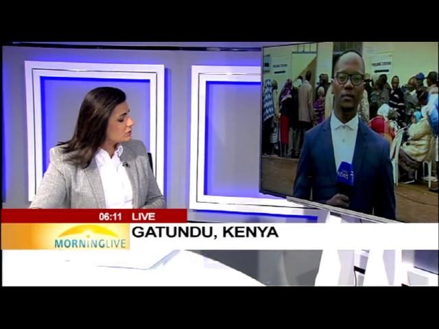 Kenyatta calls for peaceful election