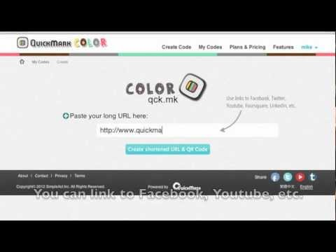 QuickMark Color - How to create a colorful QR Code