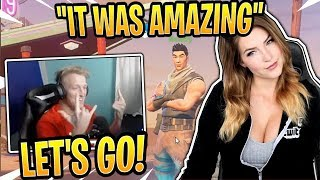 Tfue Reacts to KittyPlays *DIRTY* Dream About Tfue! - Fortnite Best and Funny Moments
