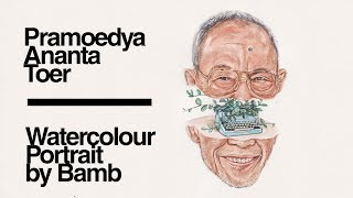 Download Lagu Pramoedya Ananta Toer | Bumi Manusia | Watercolour Portrait by Bamb Gratis STAFABAND