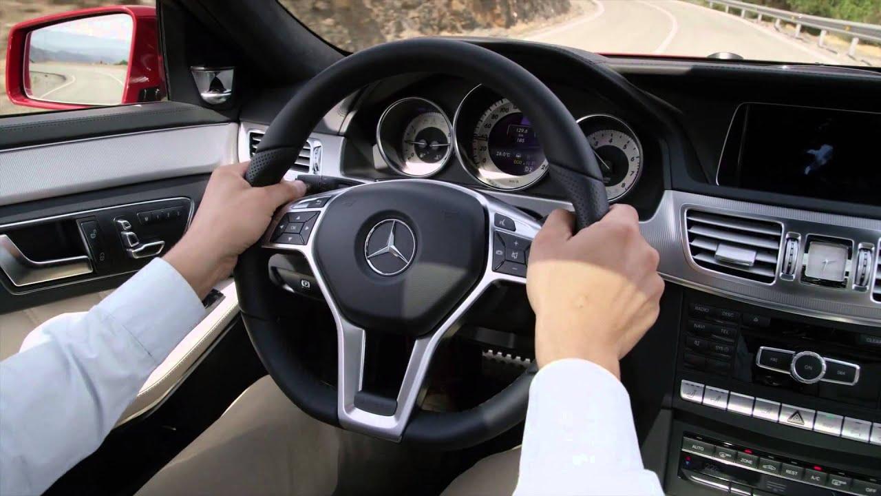 Mercedes 2014 E Class Estate E250 Road And Interior Hd