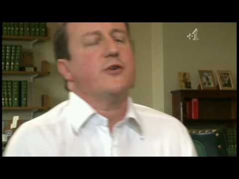 ... Cameron usually says his lines well - but during an interview with Gay ...