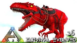 ARK: SURVIVAL EVOLVED - ALPHA GIGANOTOSAURUS FIRST GIGA TAME E16 !!! ( PRIMAL FEAR PYRIA )