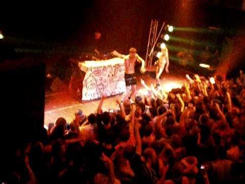 Die Antwoord Zef Side - Live in Köln germany 2010