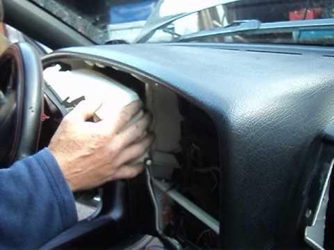 VW-B4 замена радиатора печки-5