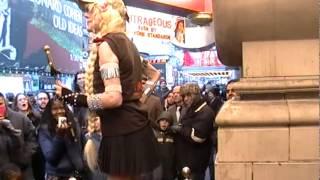 Natasha Veruschka TWIST And LONG SWORD Swallows at Ripley's 2012