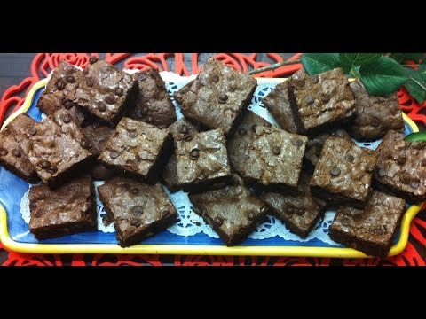 Receta: Brownie de Chococolate  - La Cocinadera