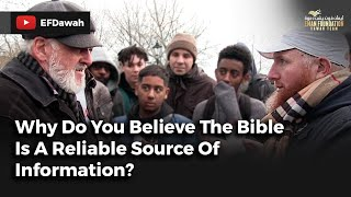 Video: For 10th time, why do you believe Bible is word of God? - Hamza Myatt vs Christian