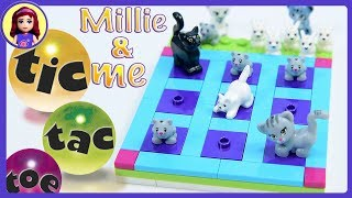Lego Friends Tic Tac Toe - Millie & Me - Build and Play