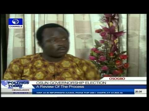 Osun Election Was Interesting And Well Conducted- Election Monitor Pt 2