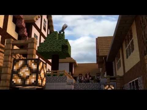 Minecraft Animation   ASSASSINS CREED 4! Sky Edition TWO!