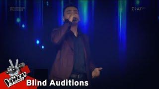 Ζάχος Καραμπάσης - Άκου | 8o Blind Audition | The Voice of Greece
