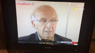 Roald Hoffmann on NHK World news, Japan