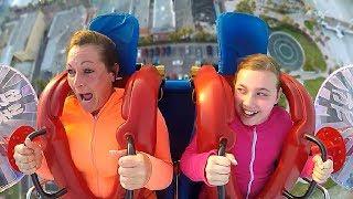 Download Lagu Scared Moms | Funny Slingshot Ride Compilation Gratis STAFABAND