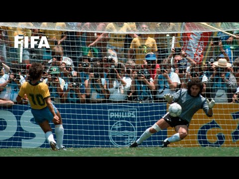 30 YEARS AGO   World Cup Highlights: Brazil - France, Mexico 1986