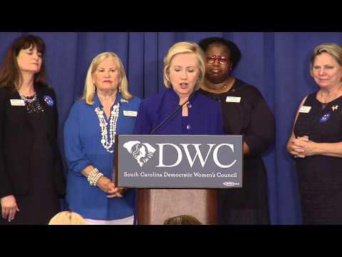 Hillary Clinton Visits Columbia