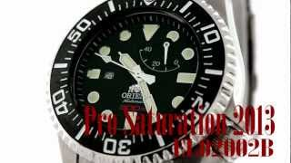 Orient Watch 2013 Pro Saturation Diver EL02002B