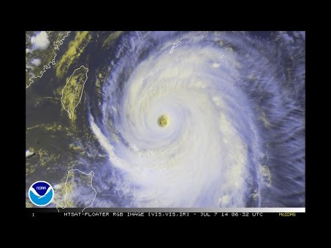 Super Typhoon Neoguri / Florita / 08W (2014)