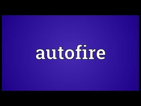 Header of Autofire