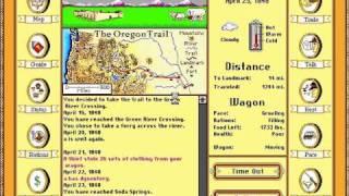 Oregon Trail Deluxe (MS-DOS) Speedrun in 0:04:13 / 3 Months & 3 Days