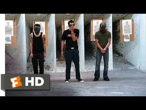 Jackass Number Two (4/8) Movie CLIP - Riot Control Test (2006) HD