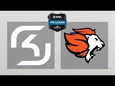 CS:GO - SK vs. Selfless [Cbble] Map 1 - ESL Pro League Season 5 - NA Matchday 11