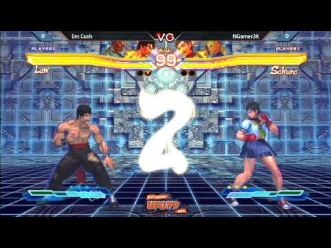 UFGT9  EM Cush Vs. NGamer3K - Street Fighter Cross Tekken Pools
