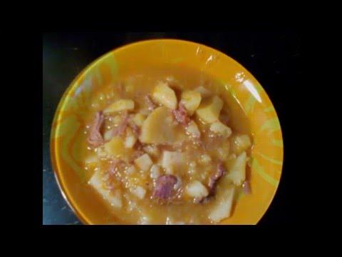 Тушёная картошка с тушенкой