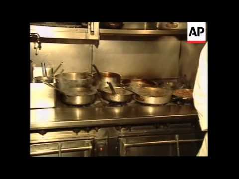 USA: FOOD PREPARATIONS FOR THE 68TH ANNUAL ACADEMY AWARDS