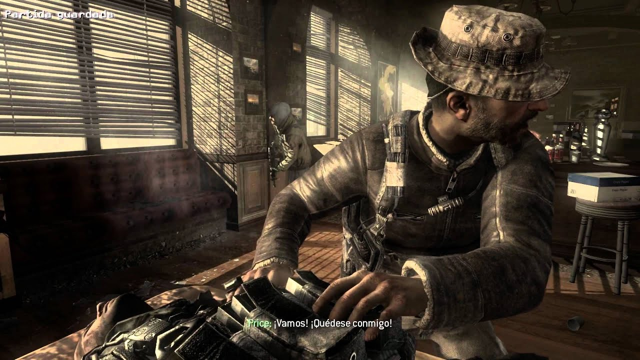 call of duty 8 modern warfare 3 acto 2 mision 6 hermanos
