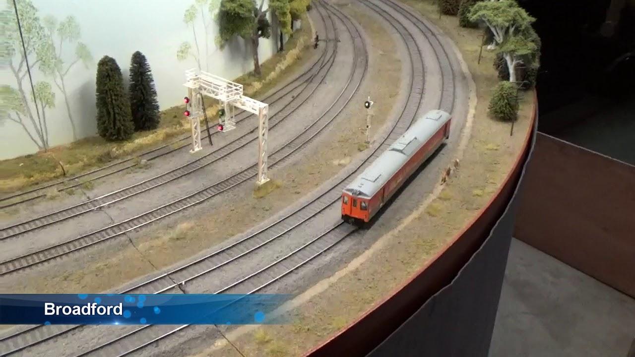 Railway model movie