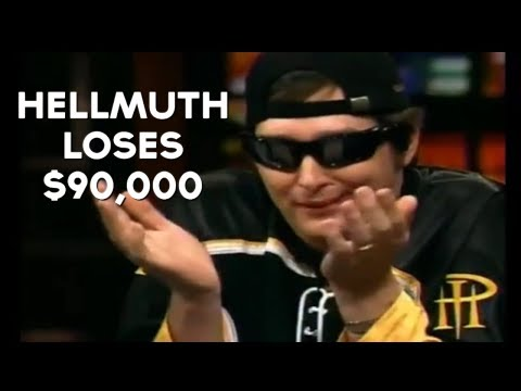 Phil Hellmuth's Flush Loses To QUADS (Nice Poker Hand)