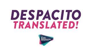 "JSi translates Luis Fonsi's ""Despacito"""