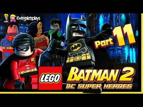 Lego Batman 2 - Walkthrough Wii U Part 11 Clown Robot Subway Fun!