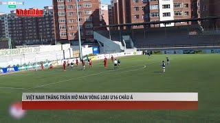 Tin Thể Thao 24h Hôm Nay (7h - 21/9): Việt Nam Thắng Trận Mở Màn Vòng Loại U16 Châu Á
