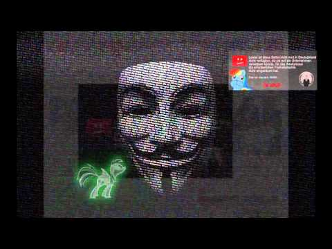 Anonymous - Operation GEMA | Paperstorm [GERMAN]