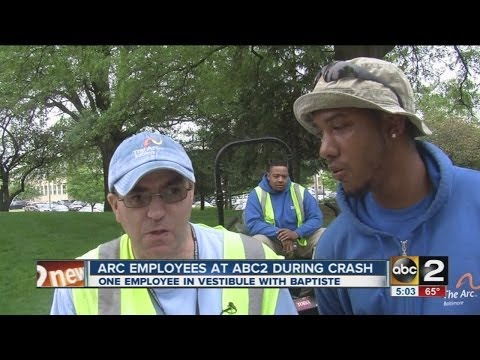 Arc  employees were at WMAR following crash
