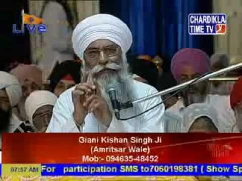 Daily Katha from Sri Bangla Sahib Delhi - Kishan Singh - 16 Jun 2015 Pt 1