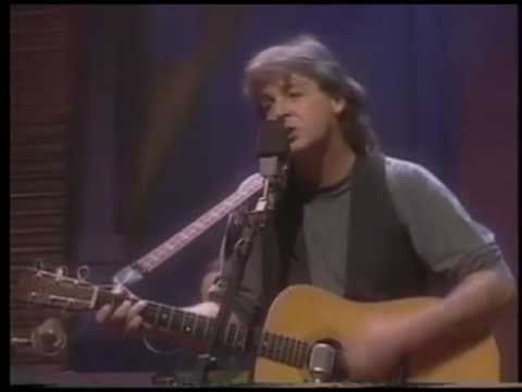 Paul McCartney - Singing The Blues